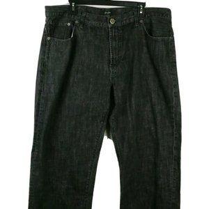 SEAN JOHN  Jeans 40x31 Black Embroidered Cross